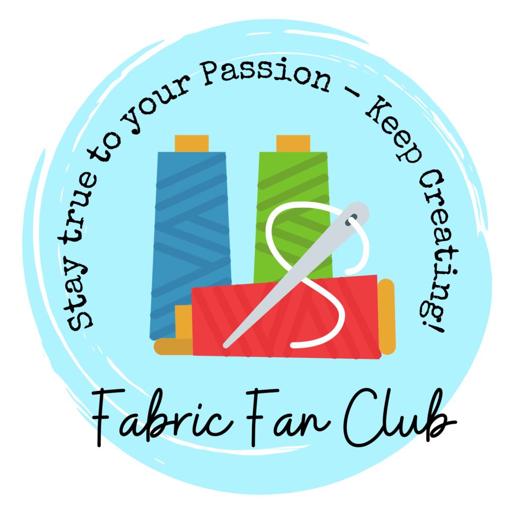 The Fabric Fan Club Logo 1